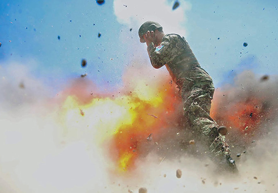 Army Release Photo Taken At Exact Moment Photographer Was Killed