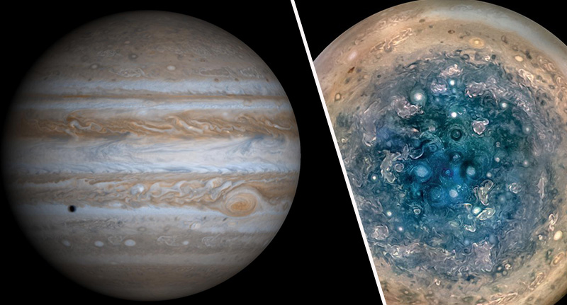 Nasa Probe Captures First Ever Close-Up Images Of Jupiter