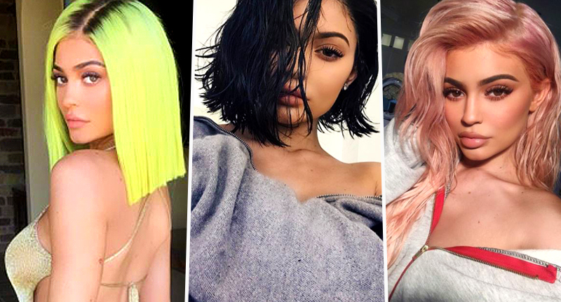 Kylie Jenner Gets Slaughtered For Showing Her Real Hair On
