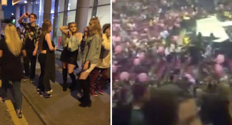 Witness Inside Manchester Arena Describes Moment Of Huge Explosion manc3