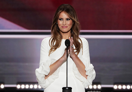 Melania Trump First Lady gave a speech said to have ripped off one by Michelle Obama