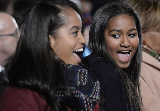 Malia And Sasha Obama Reveal How They Spent Their Last Night In The White House