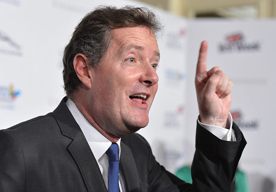 Piers Morgan Tells Mental Health Sufferers To 'Man Up', Proving He's A Massive C*nt