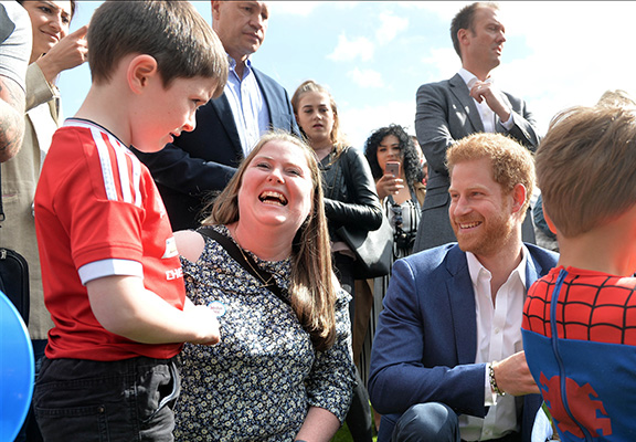 Lee Rigby's Son Met Prince Harry At Buckingham Palace Garden Party
