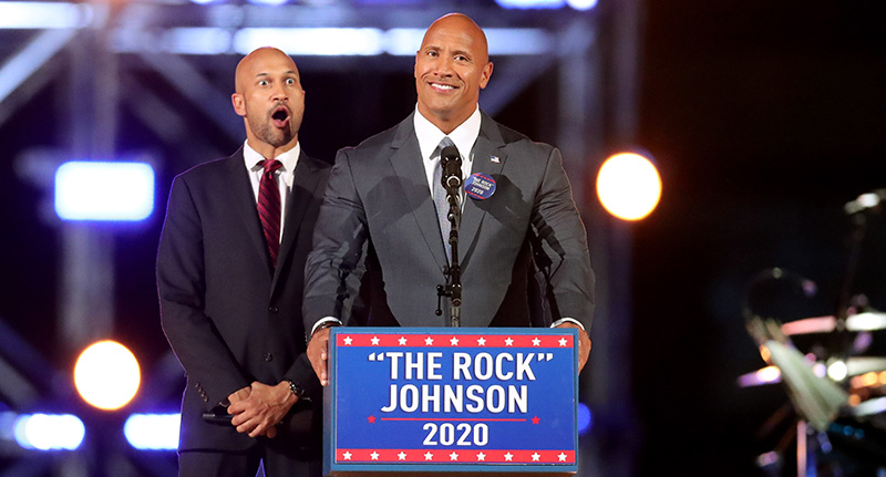 Dwayne Johnson: 'I don't think I would be a great president'