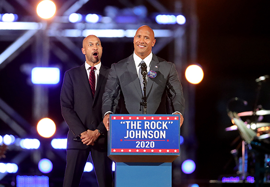 The Rock Is Leading Donald Trump In Polls For 2020 Election