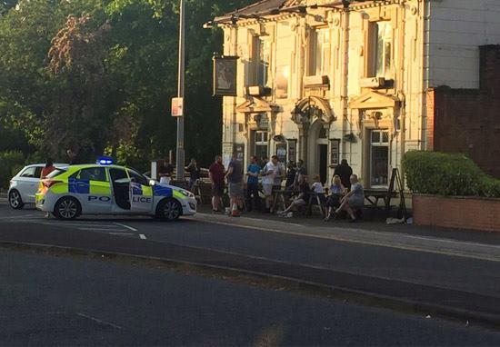 Wigan Locals Respond To Bomb Scare In Most British Way Possible