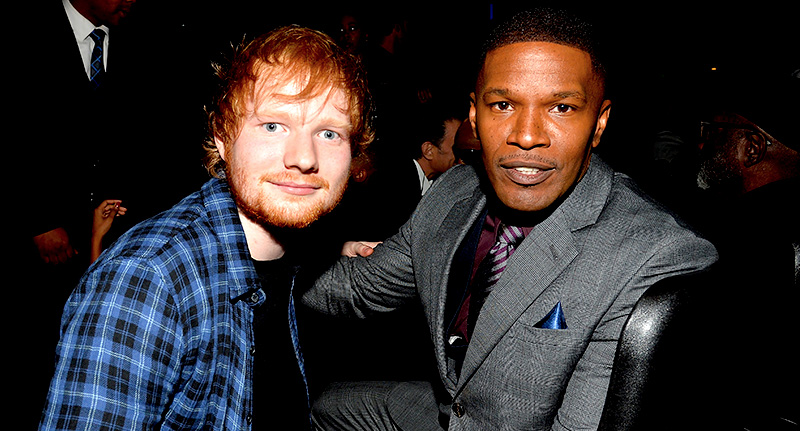 Ed Sheeran Lived On Jamie Foxxs Couch While He Tried To Make It Big 102103