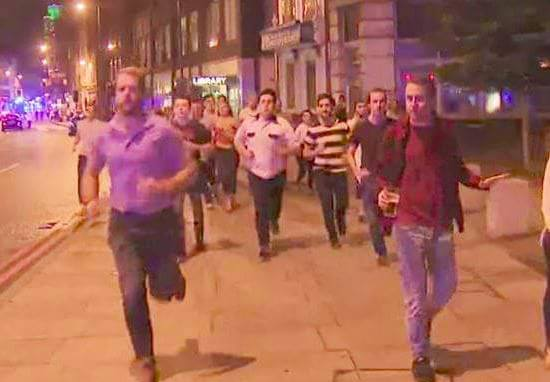 Guy Running From Terror With Beer In Hand Becomes Symbol Of London's Spirit