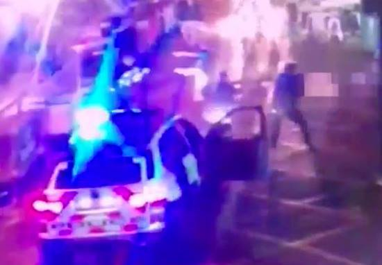 Dramatic Footage Shows Moment London Terror Attackers Were Shot