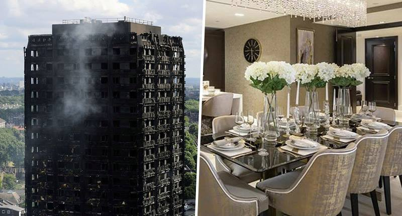 grenfell tower families given 68 flats in luxury apartment