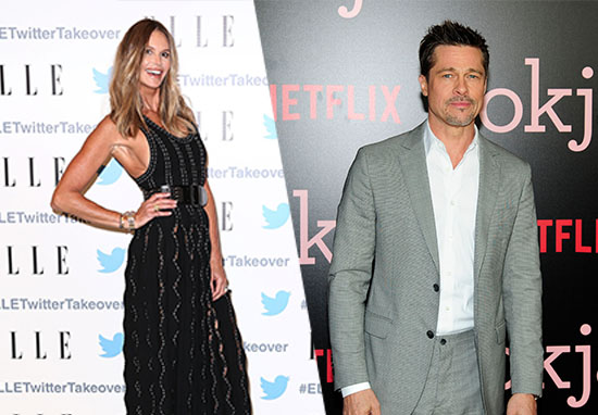 Brad Pitt Spotted On 'Date' With Famous Model 'Recently Split From Billionaire Husband'