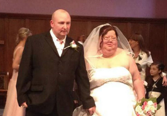 Woman Rips Up Wedding Photos After Shedding Half Her Weight