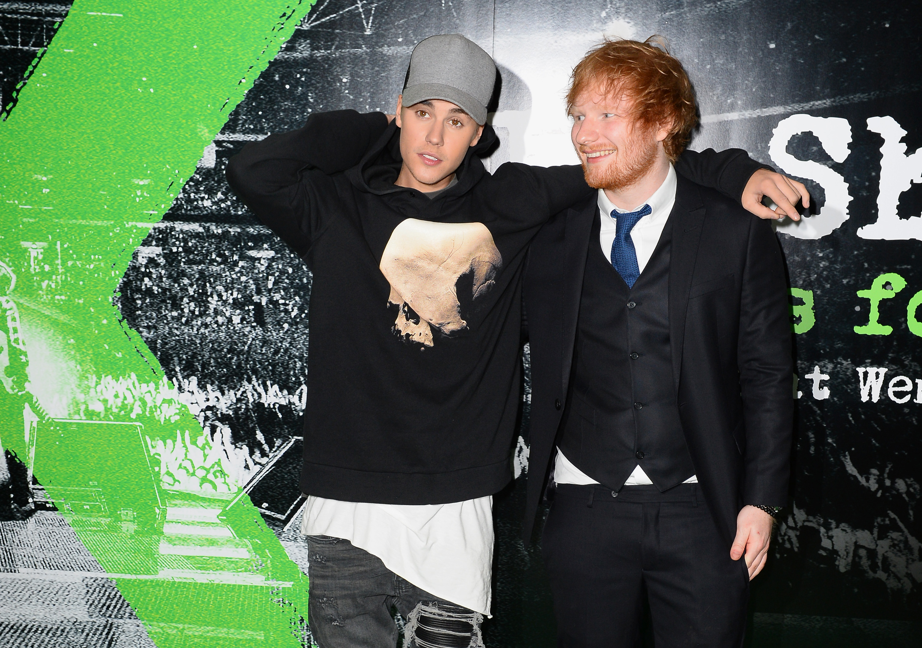 Ed Sheeran Once Hit Justin Bieber In The Face With A Golf Club
