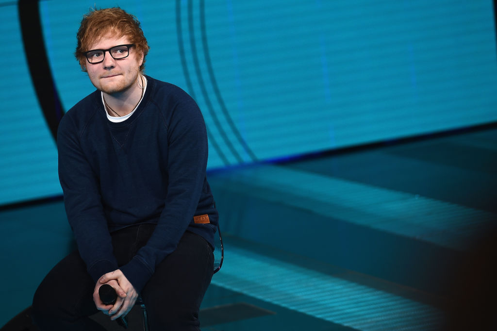 Ed Sheeran Awarded MBE At Buckingham Palace GettyImages 652607068