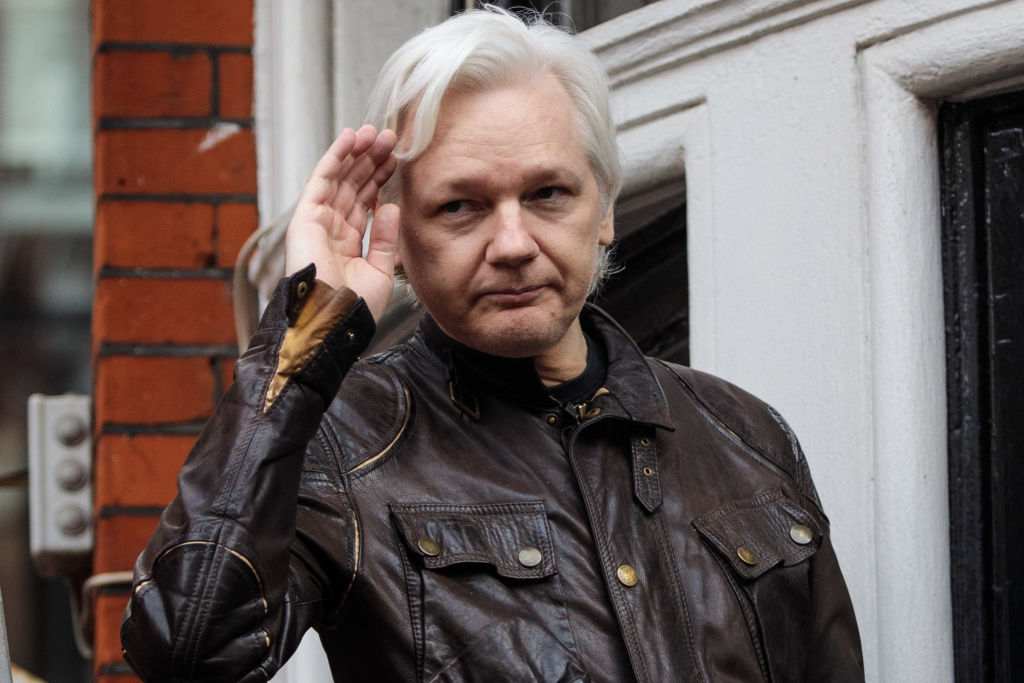 Julian Assange At Risk Of Death Announces Doctor GettyImages 685313384