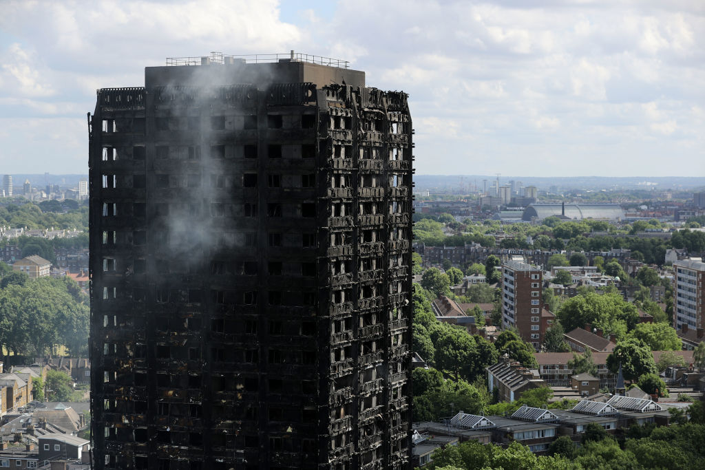 Hero Son Carried Disabled Mum Down 24 Flights Of Stairs To Escape Grenfell Fire GettyImages 696267714