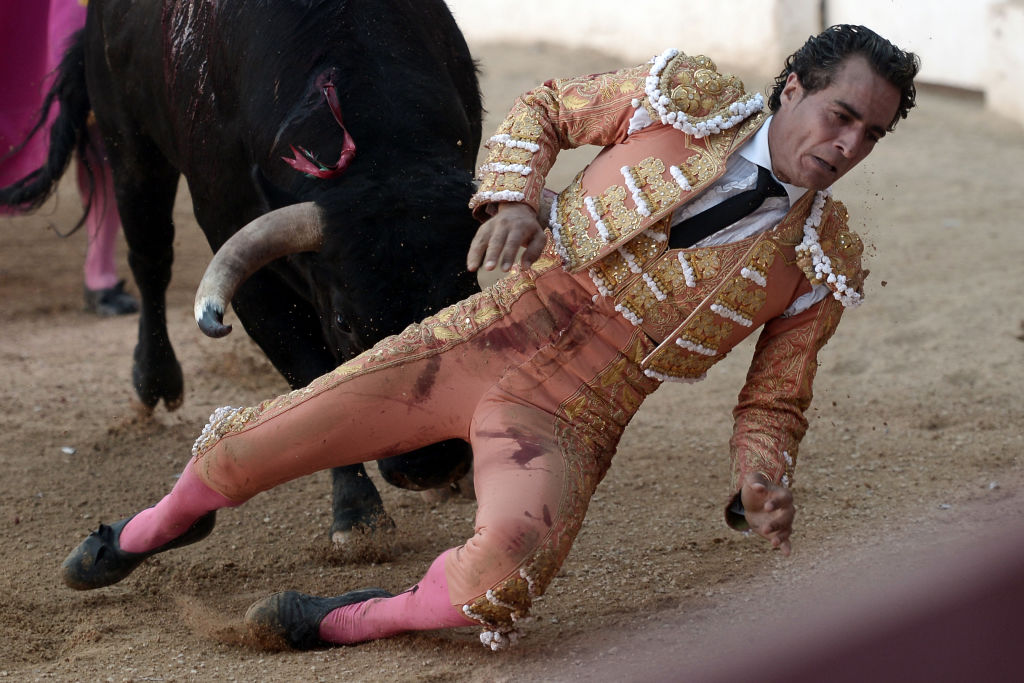 Matador Is Gored To Death By Bull After Fatal Slip In Ring GettyImages 696999354