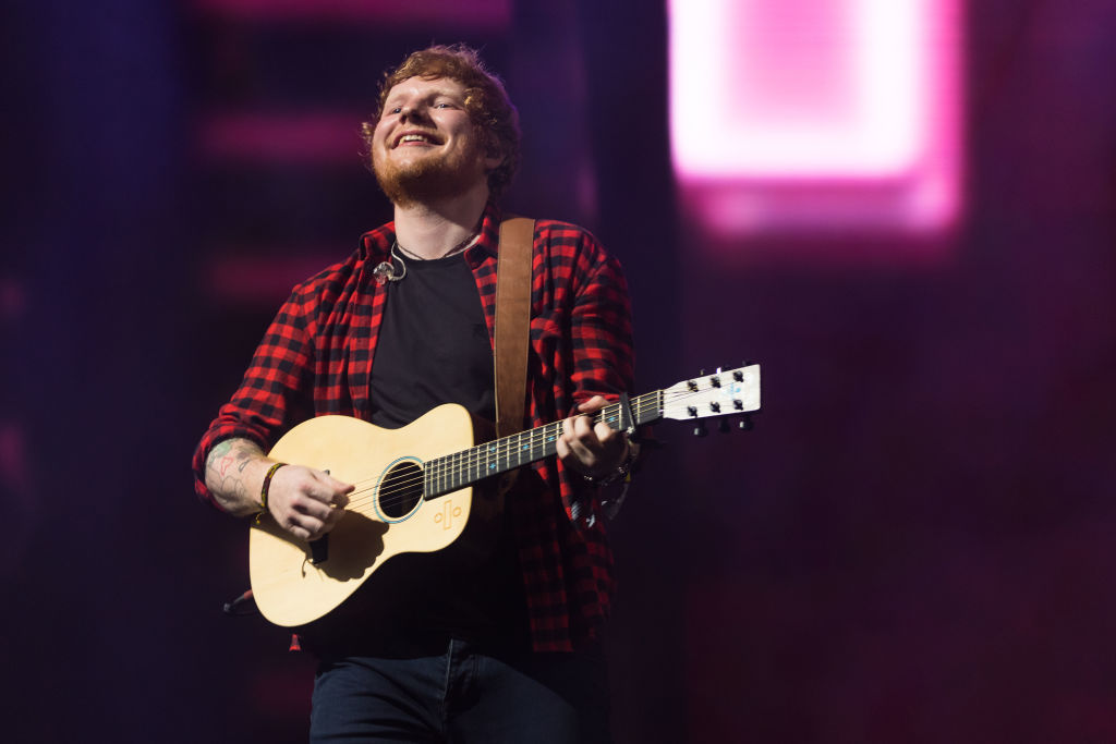 Everyone Noticed The Same Weird Thing About Ed Sheerans Glastonbury Set GettyImages 800829640