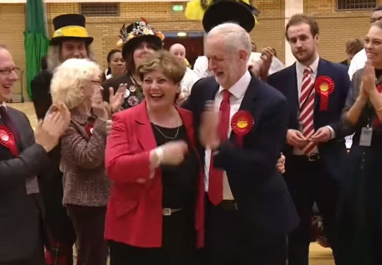 Jeremy Corbyn's High Five With Emily Thornberry Went Horribly Wrong