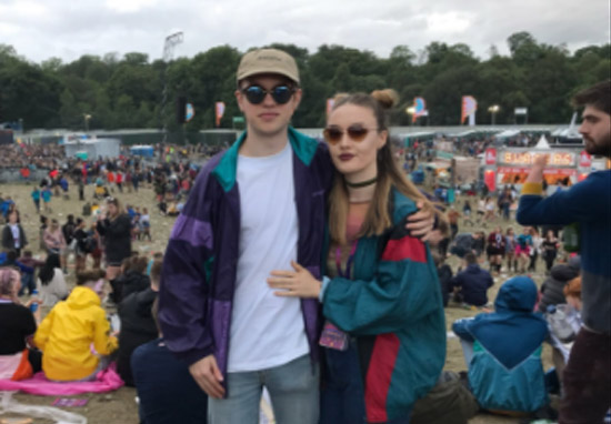 This Guy's Festival Photobomb Is Probably The Weirdest Ever