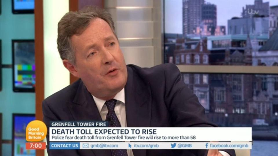Piers Morgan Rants At Producer When He Thought Microphone Was Off PIERS 1