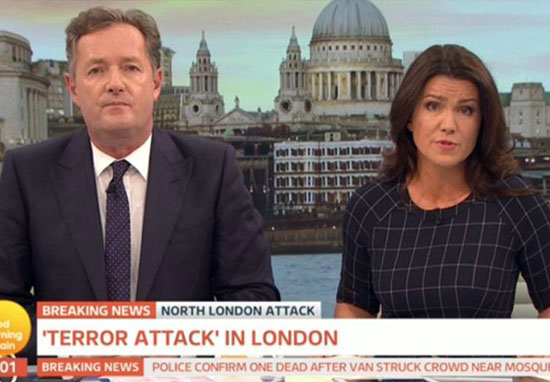 Piers Morgan Rants At Producer When He Thought Microphone Was Off