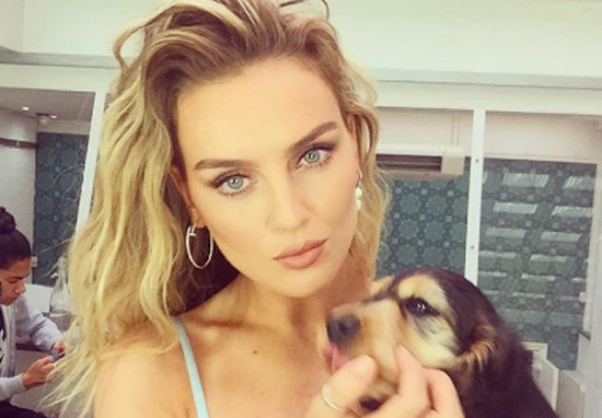 Perrie Edwards Shows Off Intimate Scar