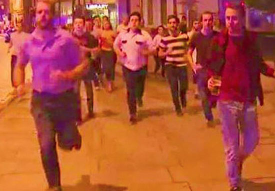 SAS Officer Reveals Why Guy Running From Terror Holding His Pint Was Right To Do So