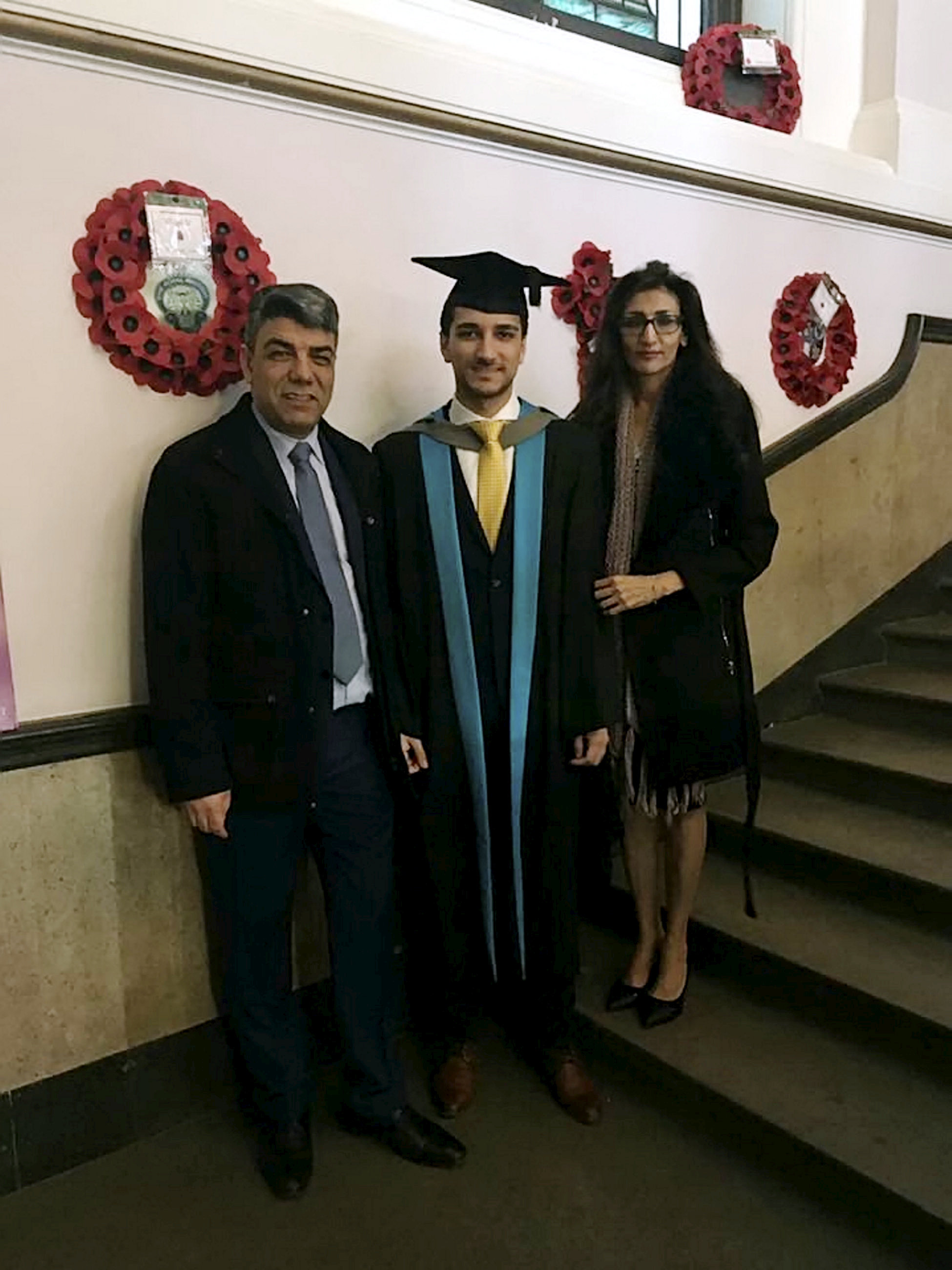 Hero Son Carried Disabled Mum Down 24 Flights Of Stairs To Escape Grenfell Fire SWNS NEDA GRENFELL 05