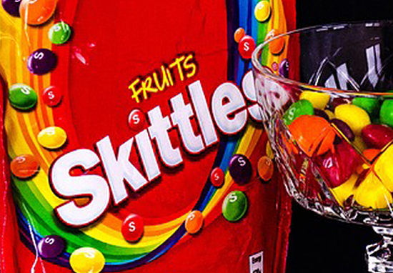 Here's Why Skittles Are Ditching Their Rainbow Colours