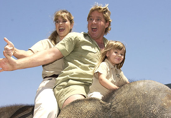 Touching Moment Steve Irwin's Family Learned He Was Getting Hollywood Star
