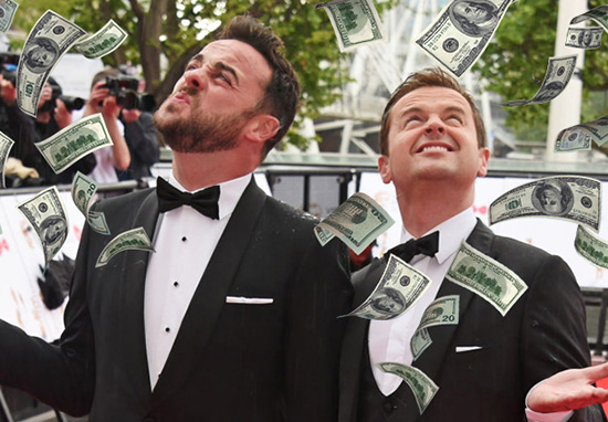 Ant And Dec Make A Staggering Amount Of Money Every Day