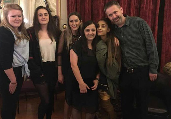 Ariana Grande Meets Families Of People Killed In Manchester Terror Attack
