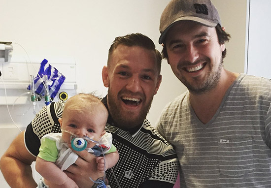 Conor McGregor Visits Children's Hospital To Surprise Young Patients During Training Break