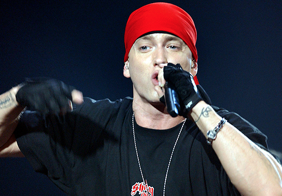Eminem Has Grown A Beard And Fans Don't Know What To Think