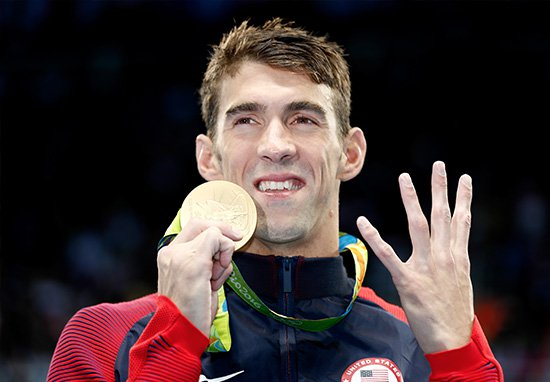 Michael Phelps Is Going To Race A Great White Shark getty 4