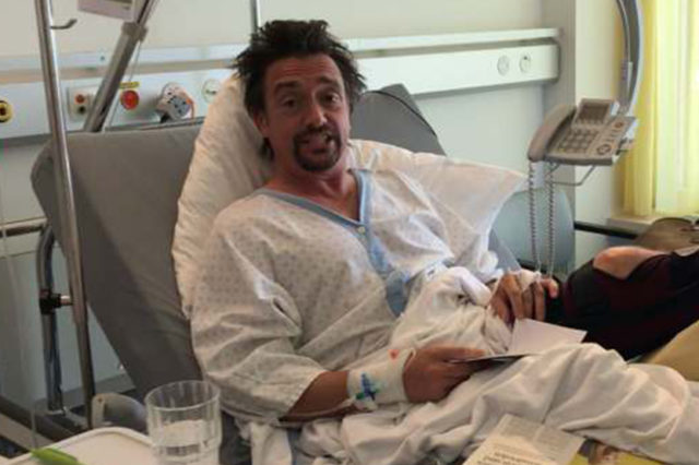 Richard Hammond Posts Video From His Hospital Bed After Horror Crash