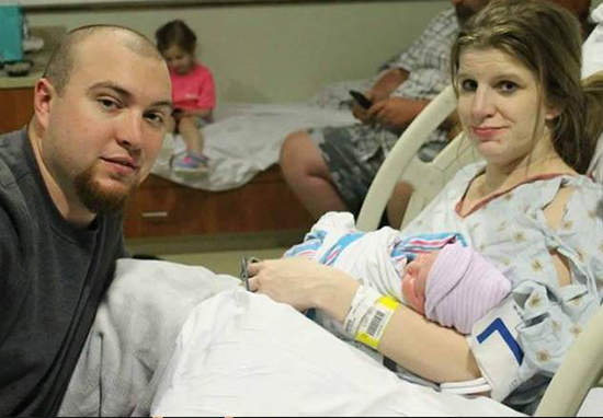 Devastated Dad Announces Son's Birth And Partner's Death In One Photo