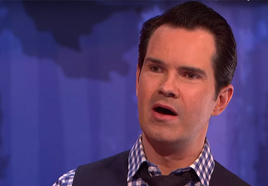 Jimmy Carr Takes Hilarious Dig At Size Of Man's Penis