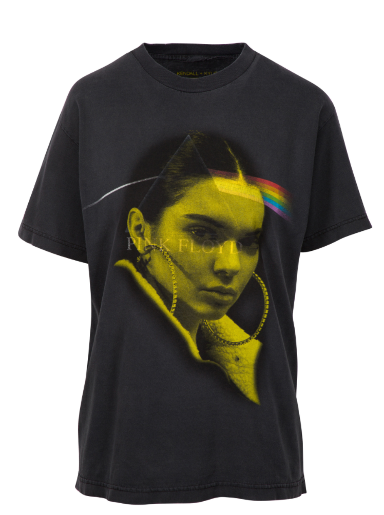Kylie and kendall jenner 39 s new t shirts might be the worst for Kendall and kylie vintage t shirts