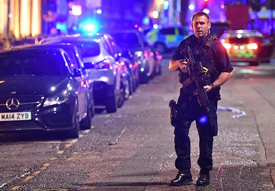 Police Confirm Third Incident In Vauxhall Area Of London