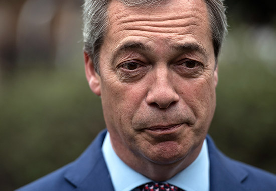 UK's Farage is 'person of interest' in FBI Trump collusion investigation, report