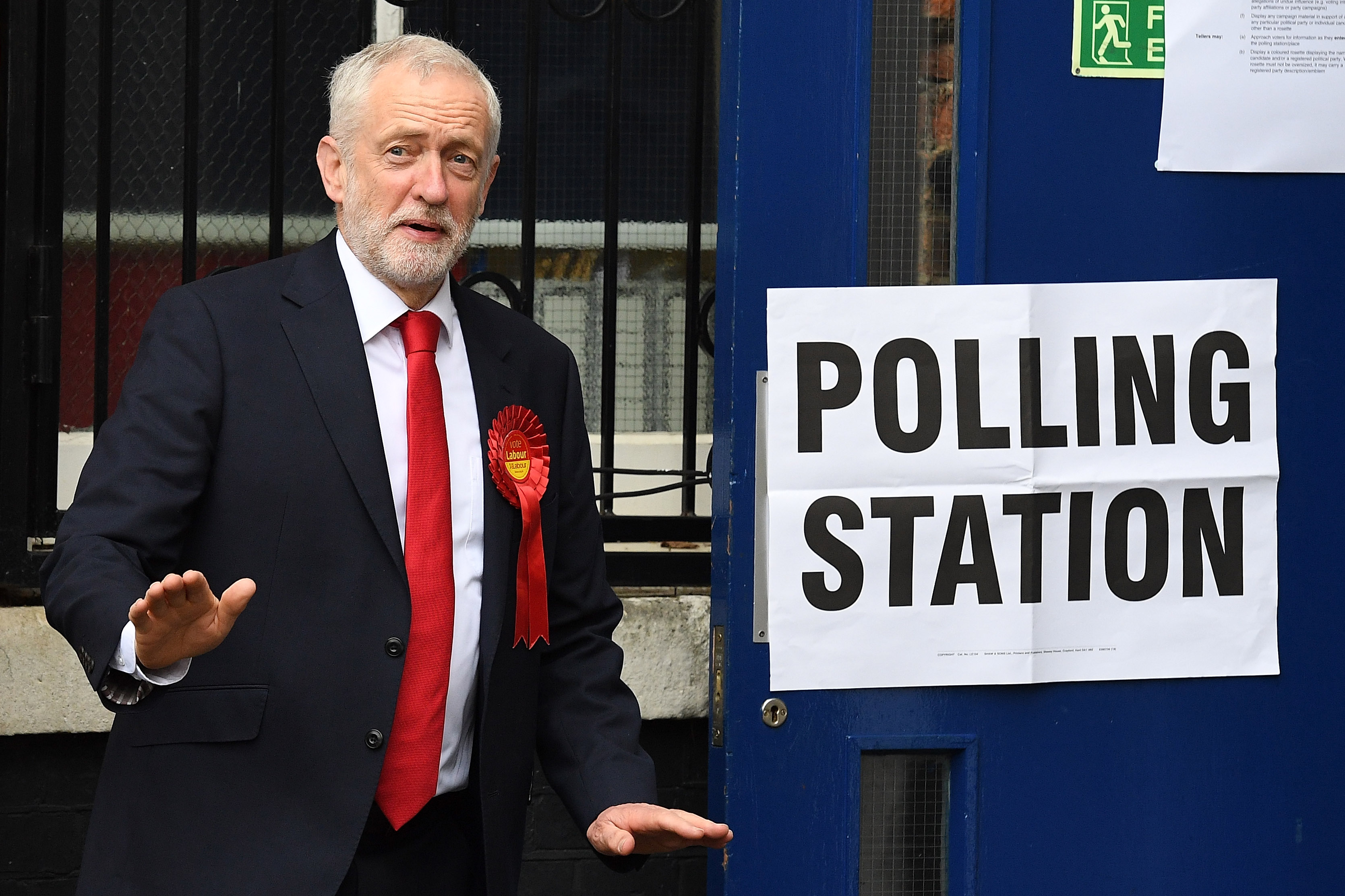 Corbyn Announces Labour Will Buy Every Homeless Person In UK A House polling3