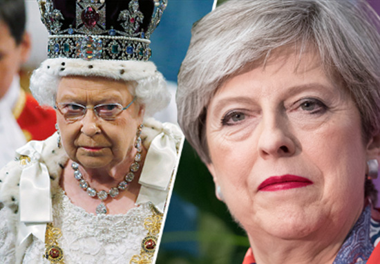 Theresa May Given Permission By Queen To Form Government