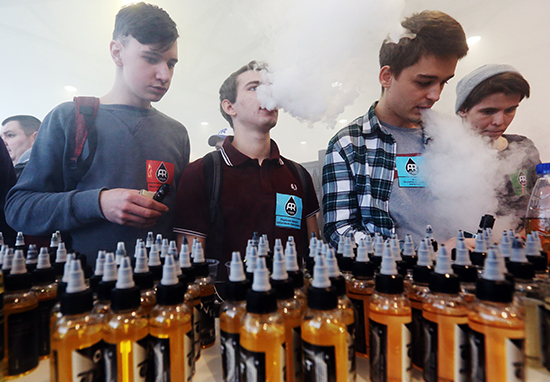 Worrying Health Warning Issued To E Cigarette Users vaping health web