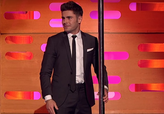 Graham Norton Got Zac Efron To Pole Dance And It Was Incredible