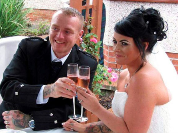 Overweight Couple Have Wedding Again After Losing Over 14 Stone Between Them 14 stone weight loss for wedding 624x468
