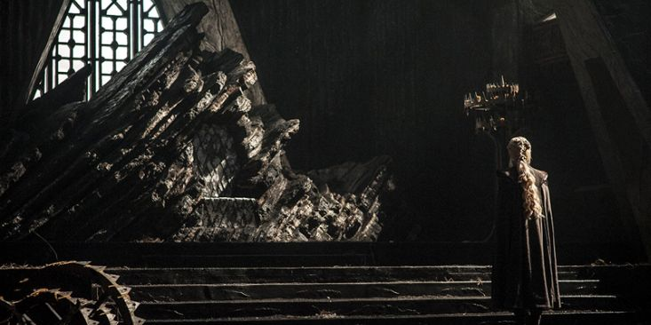 New Game Of Thrones Photos From The Premiere Have Been Released Dany Dragonstone Throne 7332 1
