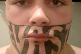 Face Tattoo A